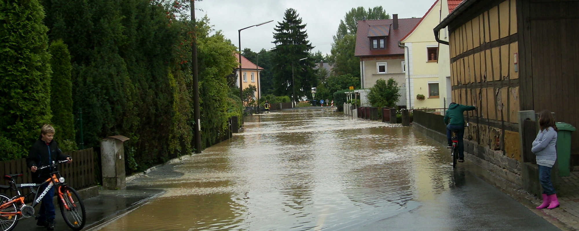 Flood water risk planning